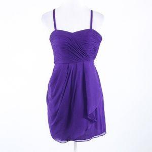 J.Crew purple spaghetti strap sun dress 00